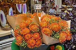 Herbstlicher Blumengruß aus Zürich