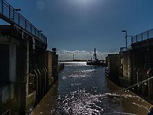 Bremerhafen Schleuse