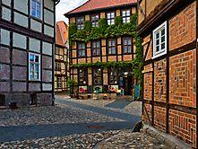 Gassen von Quedlinburg