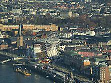 Blick auf die Altstadt Düsseldorf