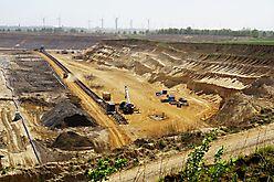 Bausand vom Tagebau