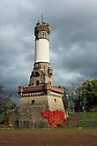Harkortturm auf dem Harkortberg im Herbst