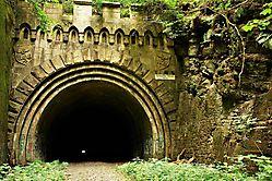 Schwelmer Tunnel Eingang