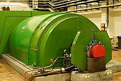Generator für Strom aus Müll