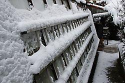 Schneeleiter