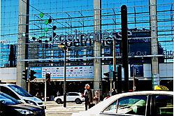 Spiegelnde Kölnmesse