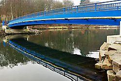 Blaue Brücke