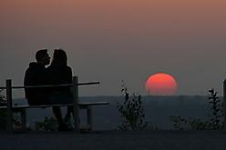 Romantk Sonnenuntergang